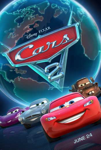 Cars 2 2011 BRrip 1080p Xvid AC3 LKRG