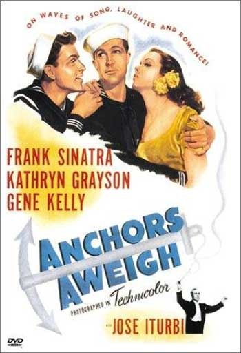 Anchors Aweigh [1945] Gene Kelly, Frank Sinatra [Subs, Extras]