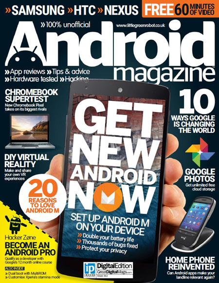 Android Magazine UK - Issue 53 2015