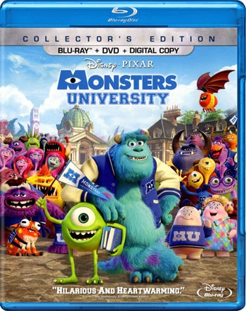 Monster University 2013 BluRay 720p 800MB Ganool