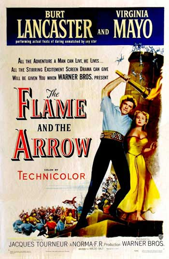 The Flame and the Arrow (1950)  DVDRip