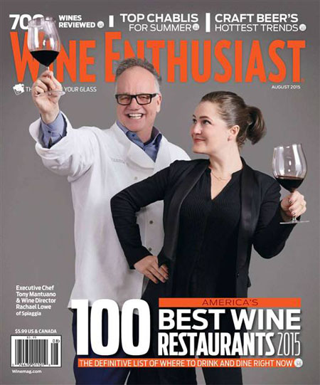 Wine Enthusiast - August 2015